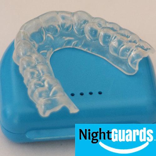 Dual Laminated Night Guard  (HYBRID) + FREE Soft Night Guard Included!