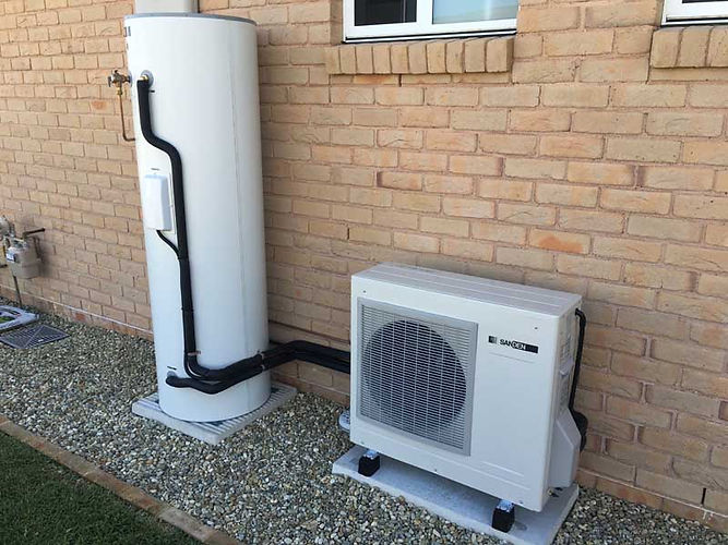 Sanden Heat Pump Superior Solar