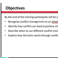 Supplimental Leadership: Conflict Resolution