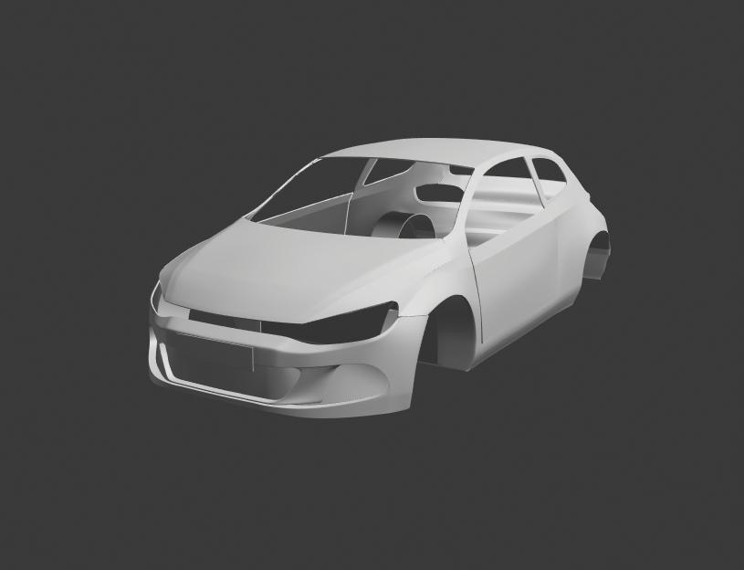 VW Scirocco (Bodywork Study)