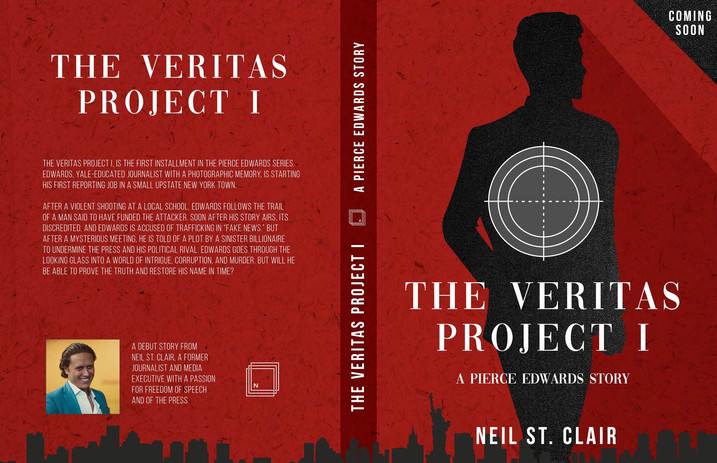 The Veritas Project I: A Pierce Edwards Story by Neil St. Clair