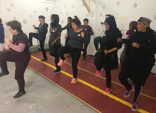 Empowering Female Refugees With Emotional and Physical Self-Defense