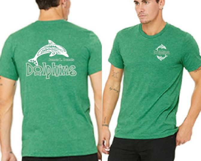 Adult Crew Neck T-shirt - Kelly.JPG