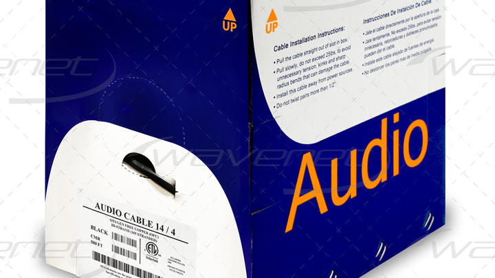 AUDIO CABLE 14/4 OFC CMR 500'