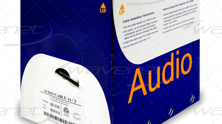 AUDIO CABLE 14/2 OFC CMR 500'