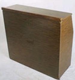 Brown Portable Bar