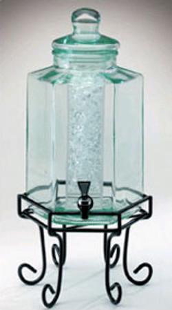 Octagon Cold Beverage Dispenser