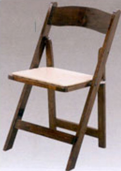 Fruitwood Folding Chairs