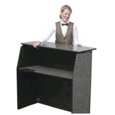 Black Portable Bar