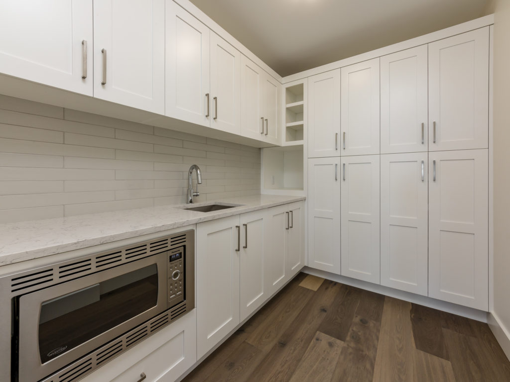 Pantry built by impact builders