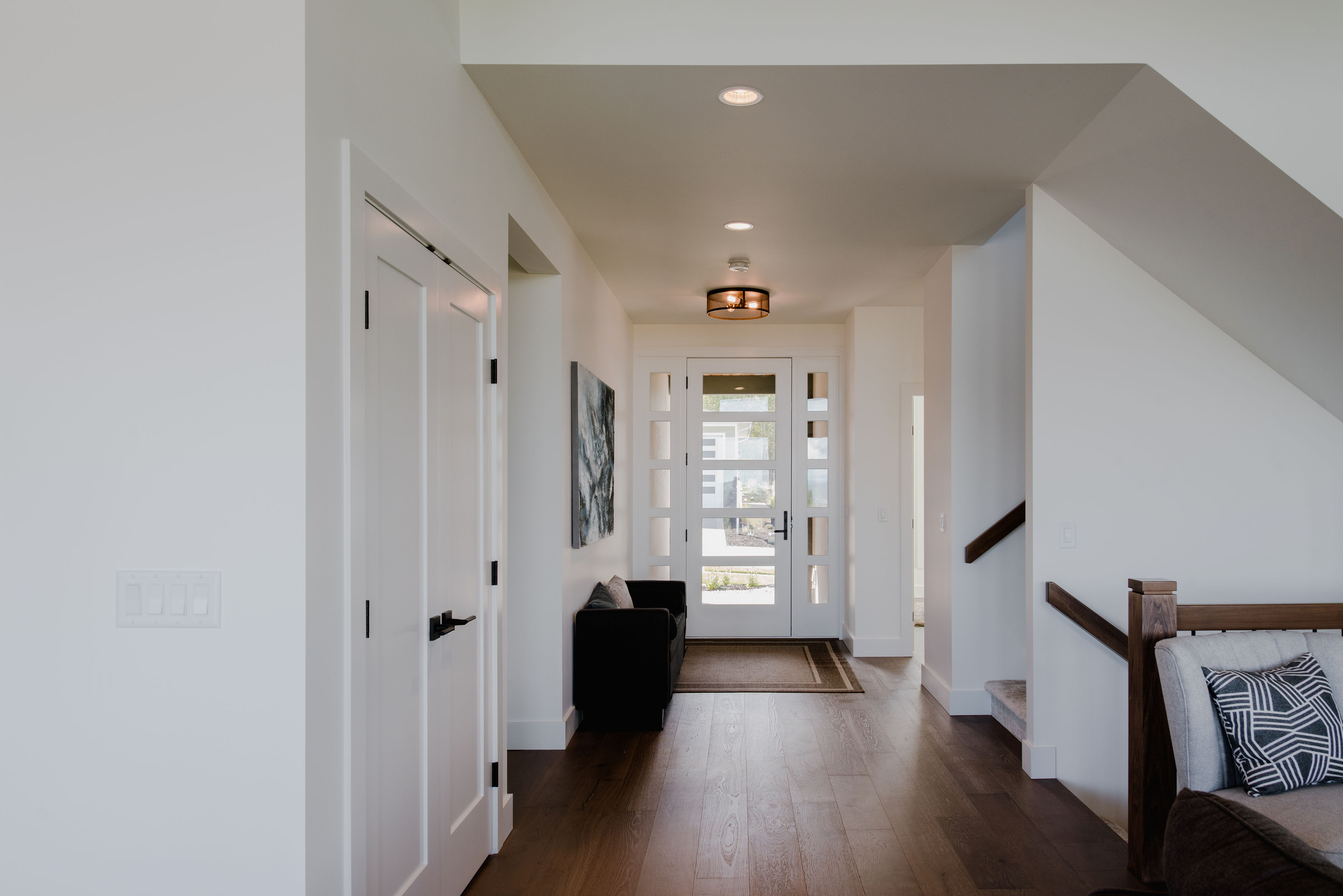 open entrance by impact builders