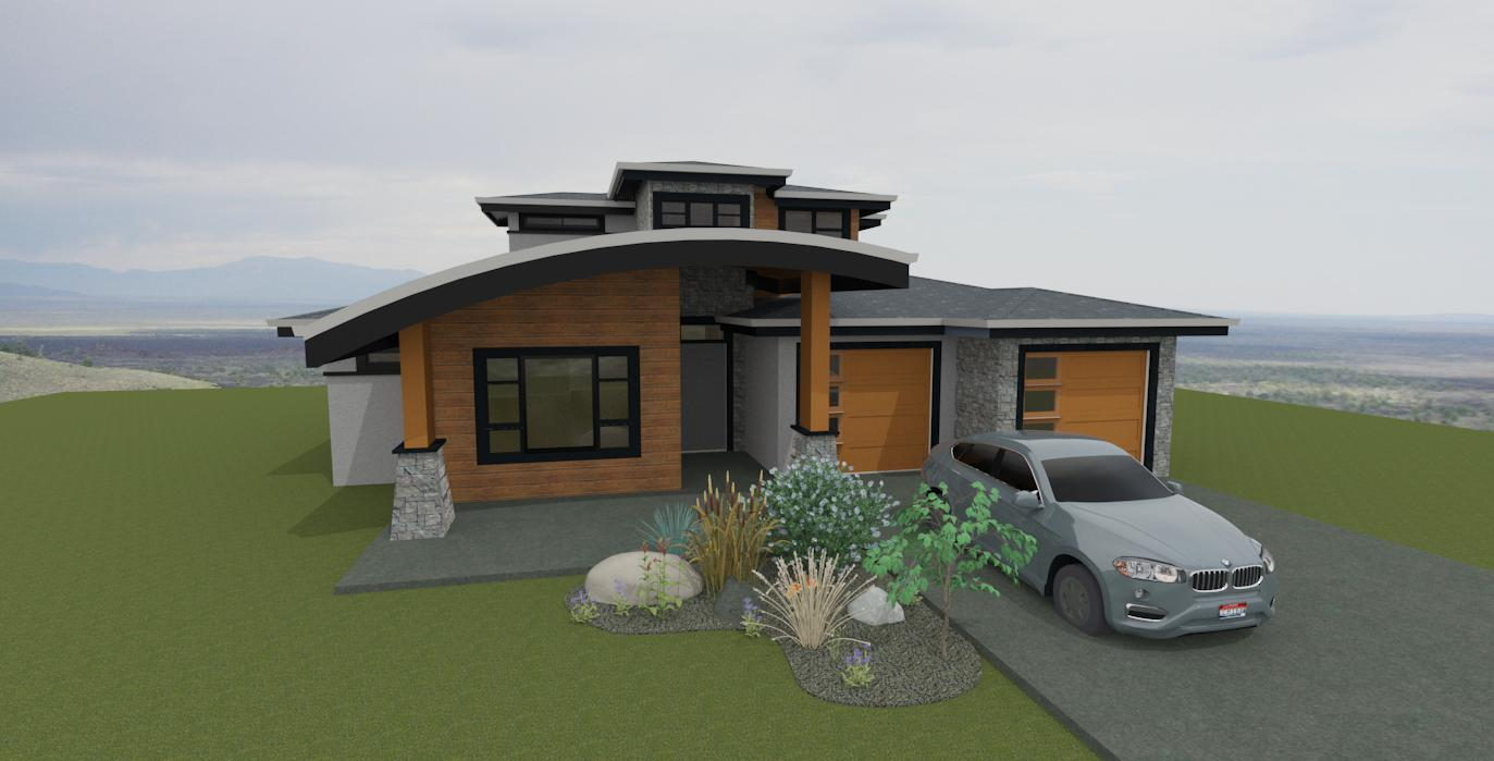 renderings with barrel awning by impact builders