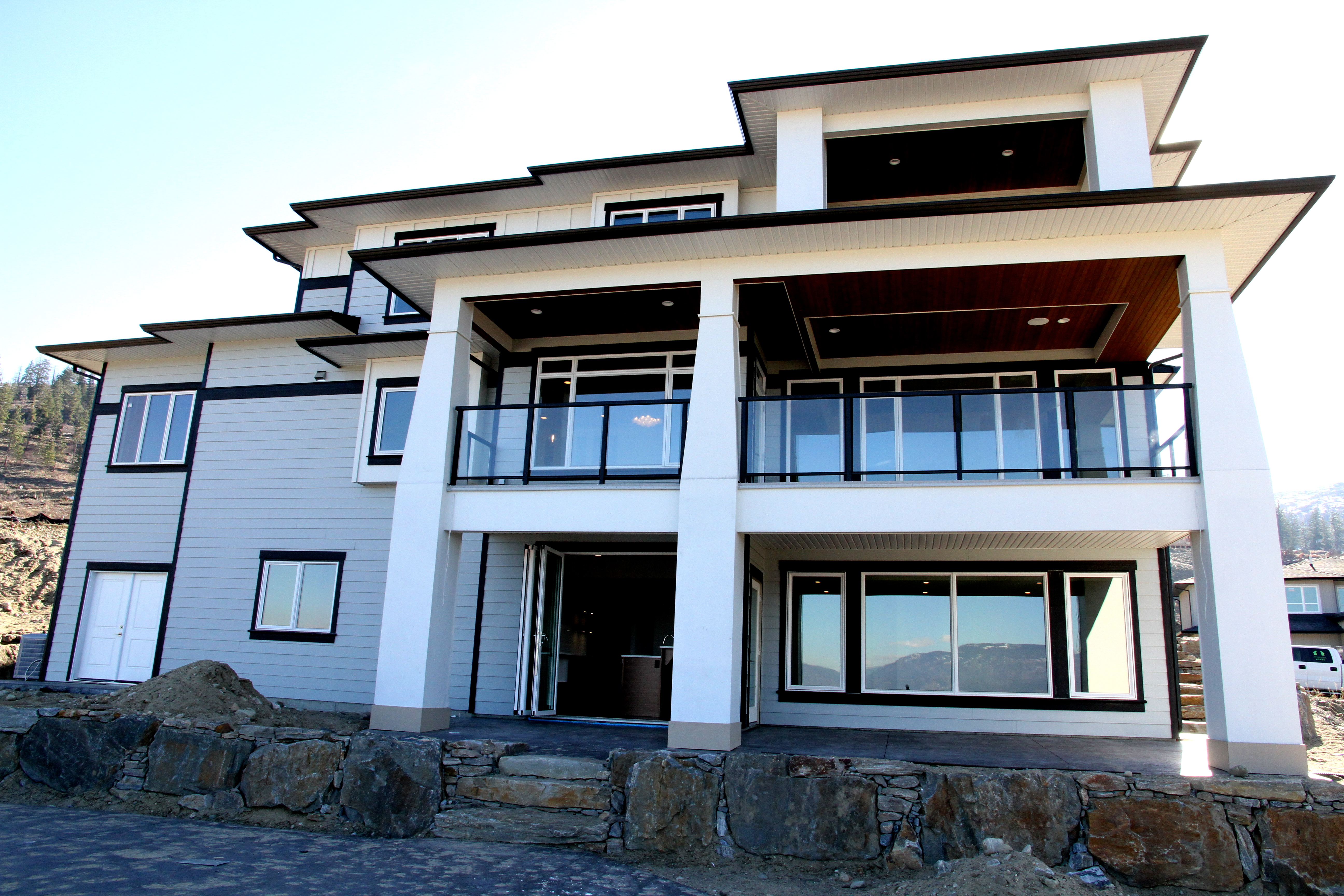 exterior built by impact builders
