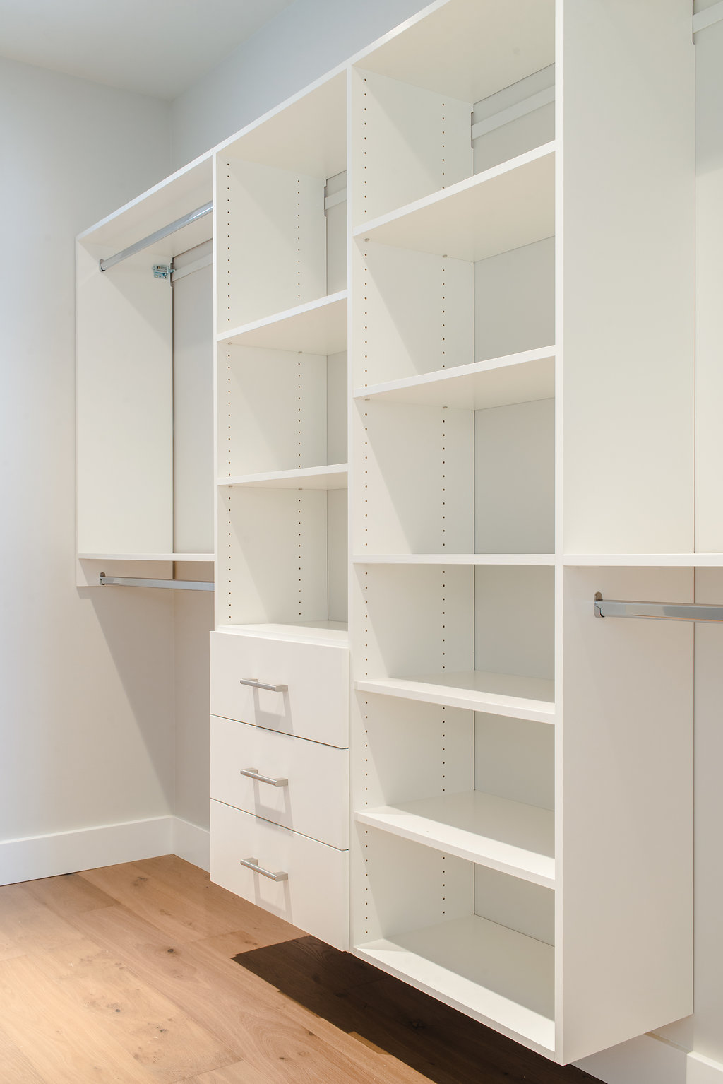 closet organization by impact builders