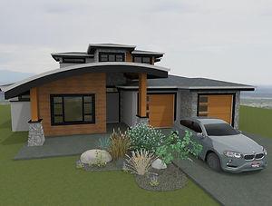 Custom Home Design Renderings, Impact Builders