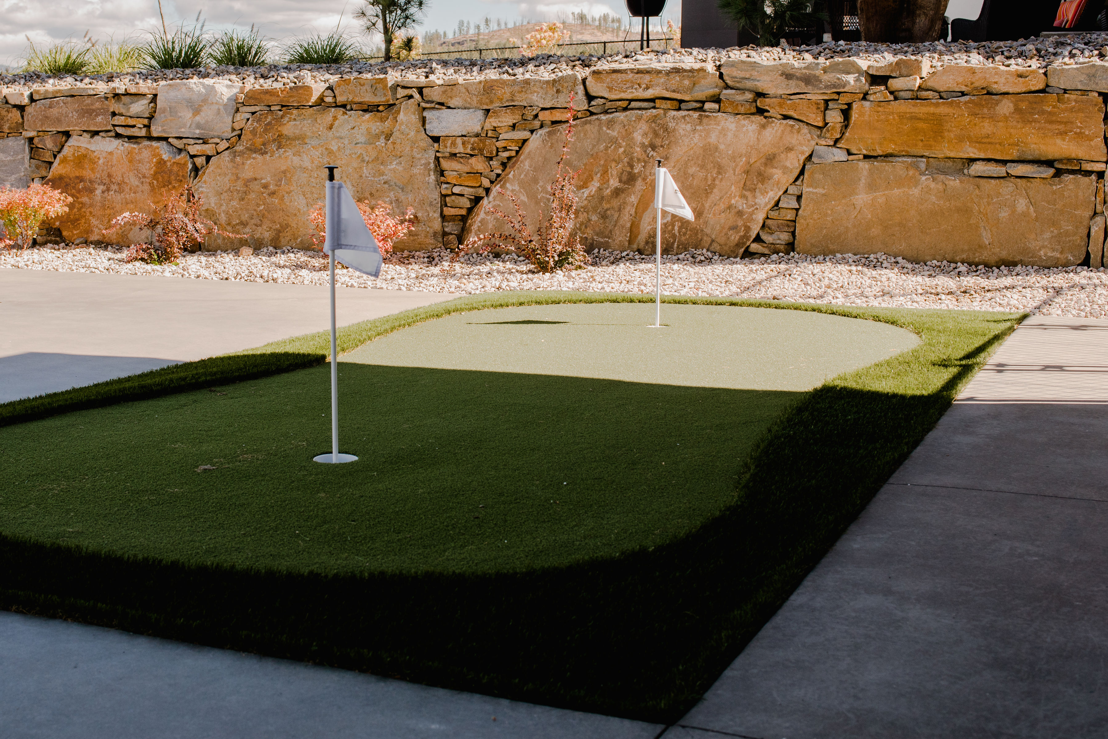 putting green by impact builders