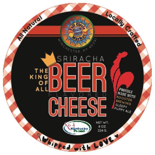 Sriracha Beer Cheese, 8oz.