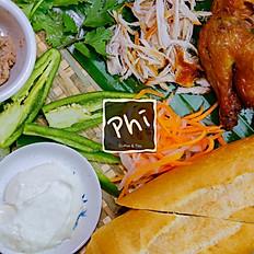 Bánh Mì Gà - Chicken Sandwich
