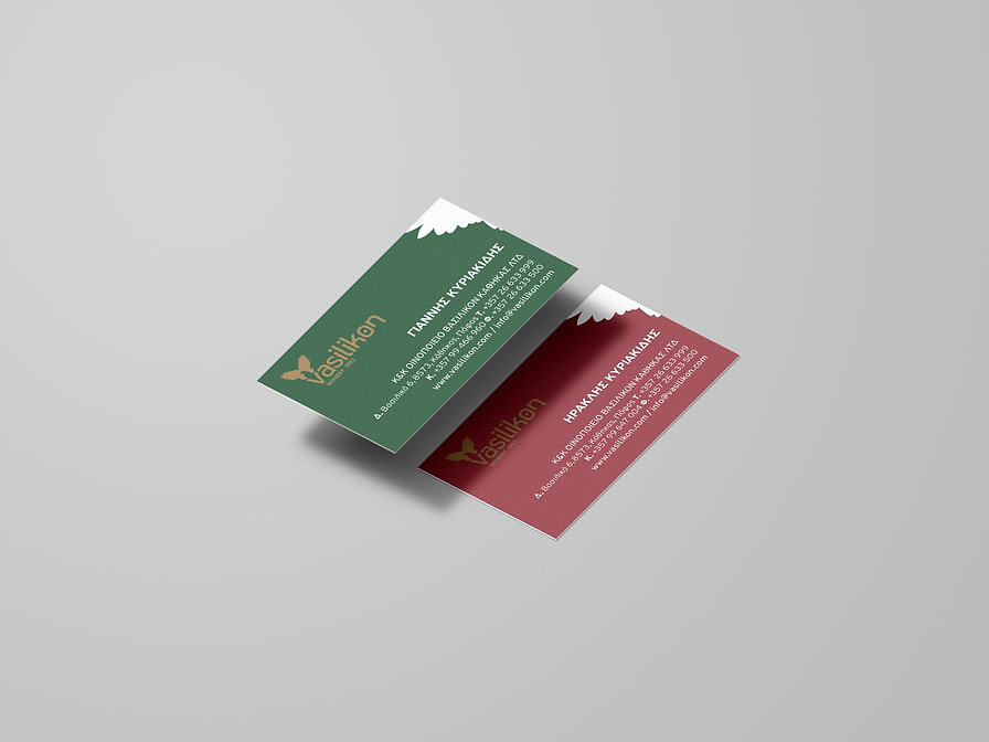 Winery Business Cards Design
