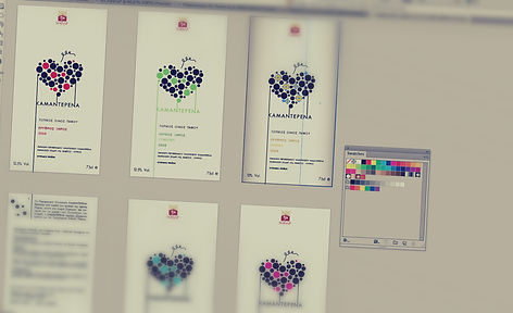 Packaging Design, Label Layout, Stella Nicodemou