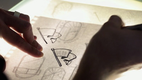 Designer Re-Designs a logo a day