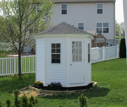 8_ Octagon Shed