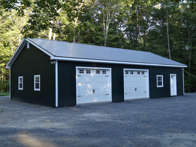 30x50 Wood Garage Truss Series