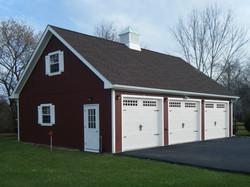 28x36 Wood Garage Attic Truss