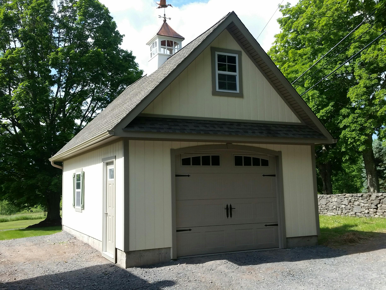 16x24 Wood Custom Garage Empire Series