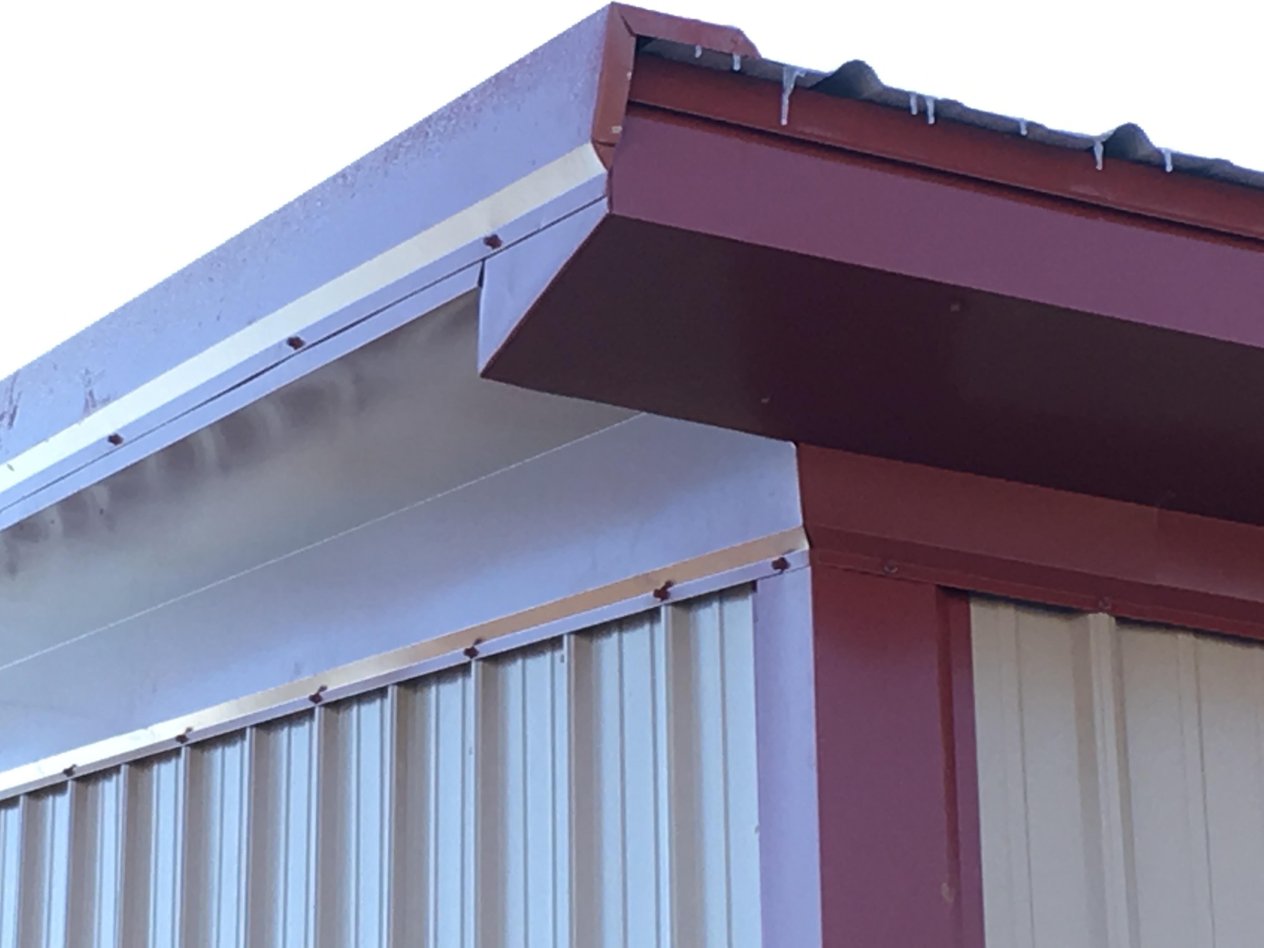Post-frame building