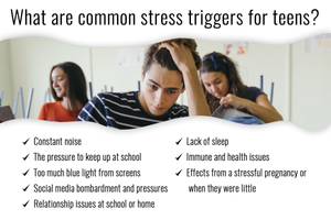 common stress triggers for teens