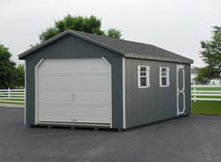 12x24 Wood Garage Workshop