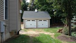 24x24 Vinyl Garage Truss Series