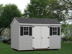 8x12 Workshop Shed with Vinyl Siding