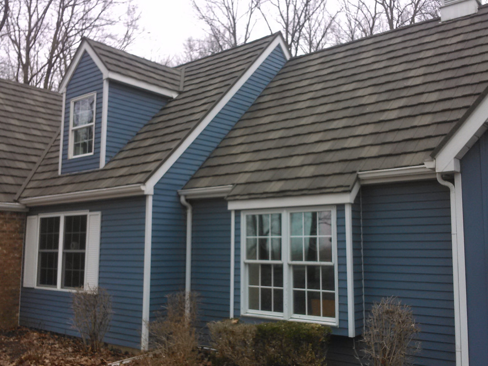 stone coated metal shingles
