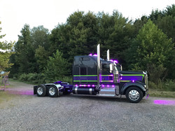 Semi Truck Complete Custom Job