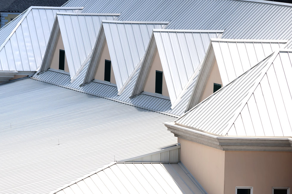 commercial standing seam metal roofing