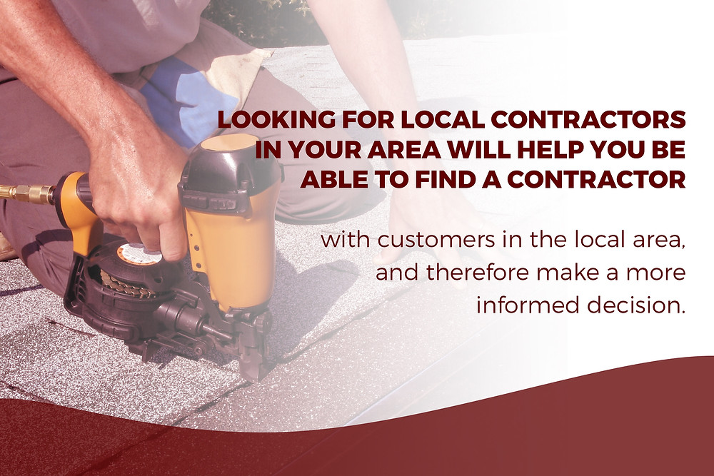 find a contractor with customers in your area
