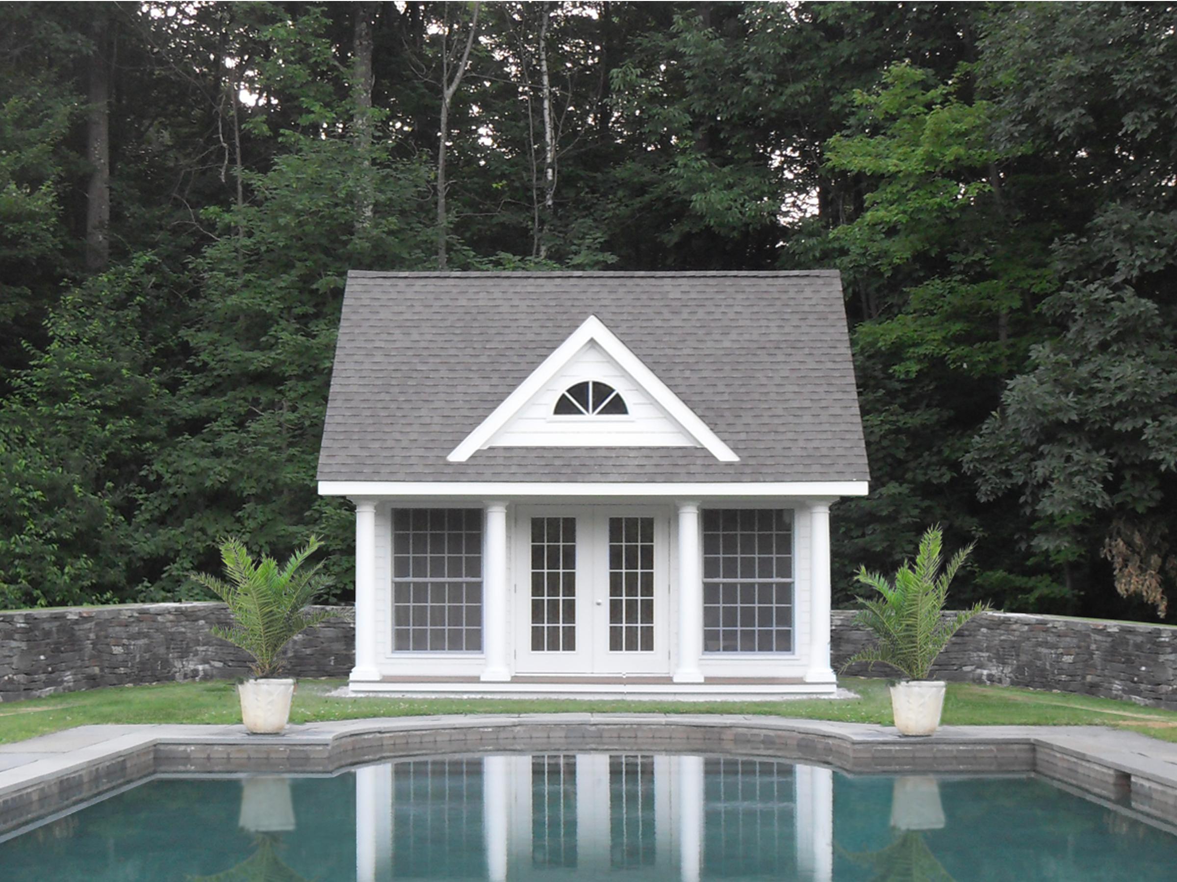 16x18 4_ porch white hardi plank, white, pewter