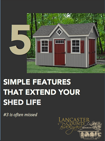 Extend Your Shed Life