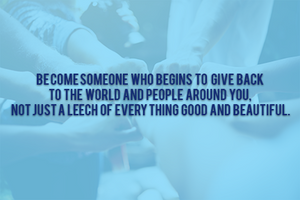 Become a better person