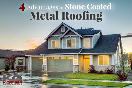 4 Advantages of Stone Coated Metal Roofing