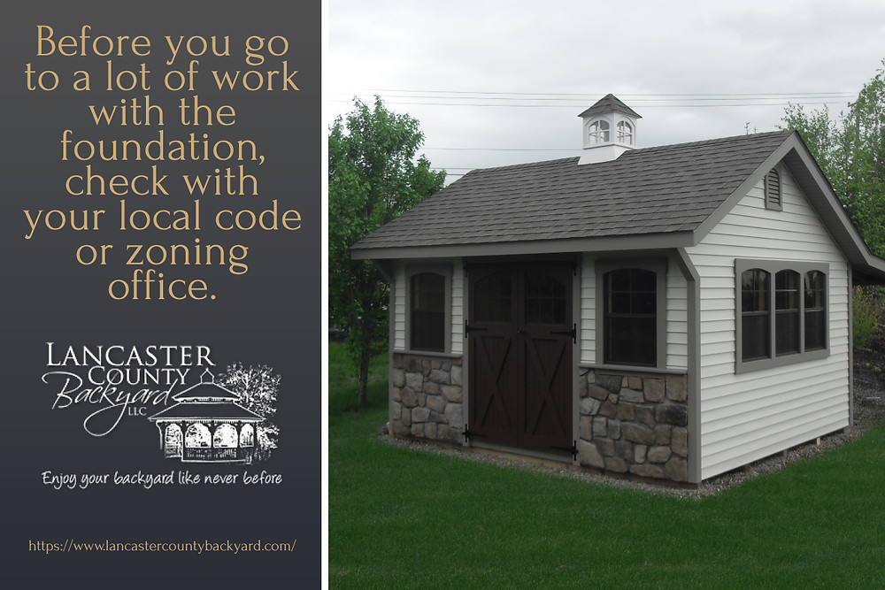 shed zoning codes