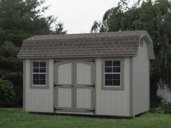 8x14 Wood Designer High Wall Barn