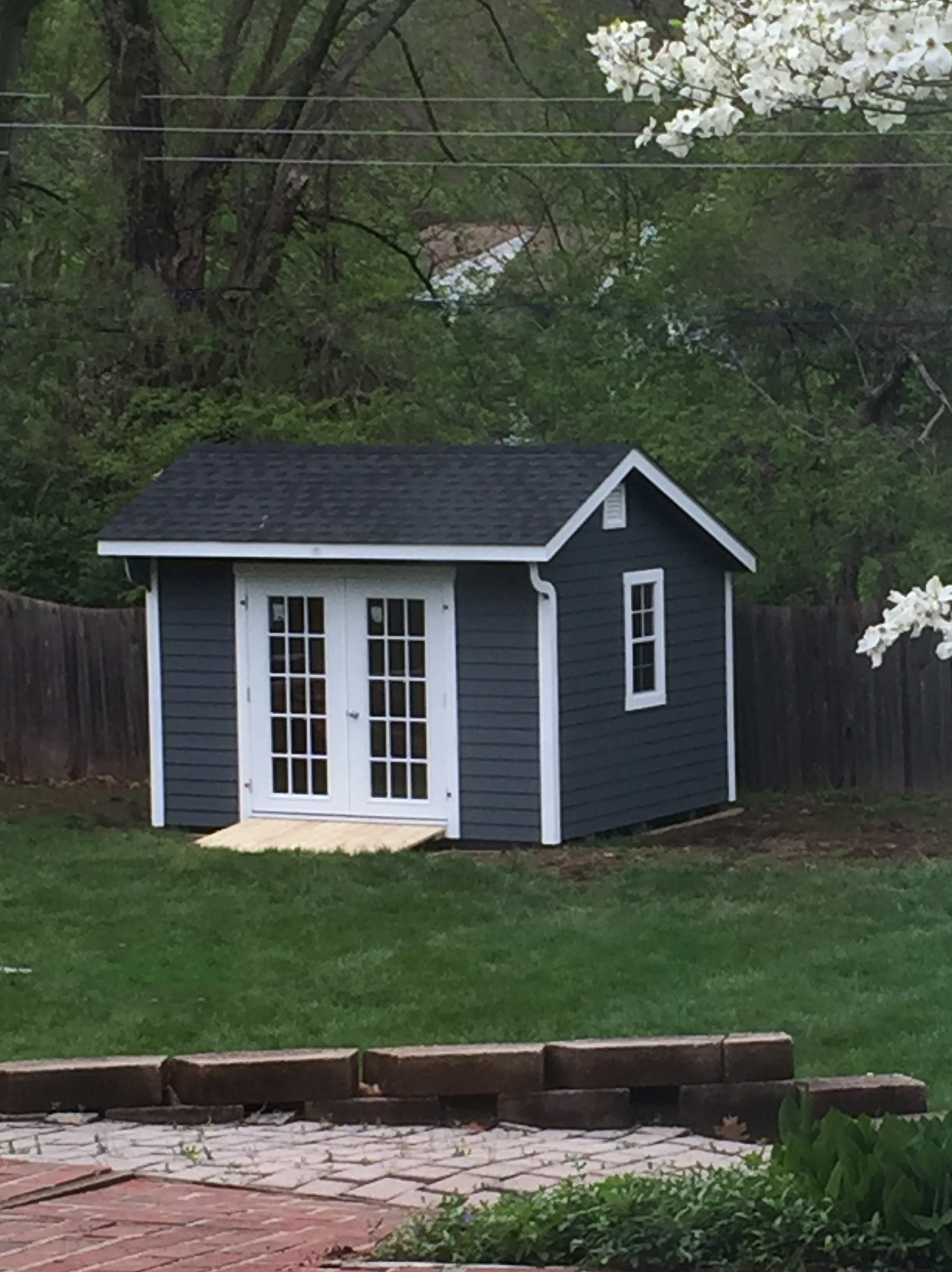 10x12 Carriage shed with Lap Siding