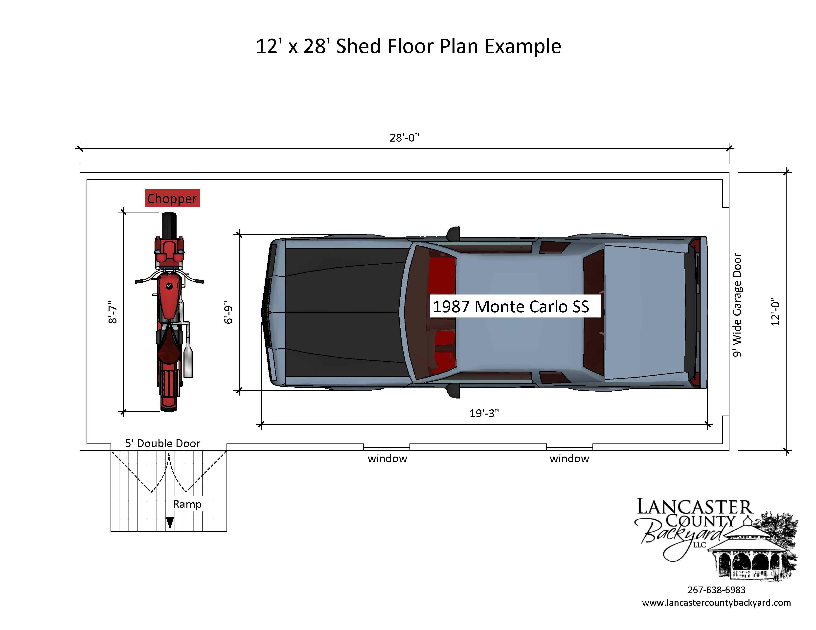 12x28 Garage