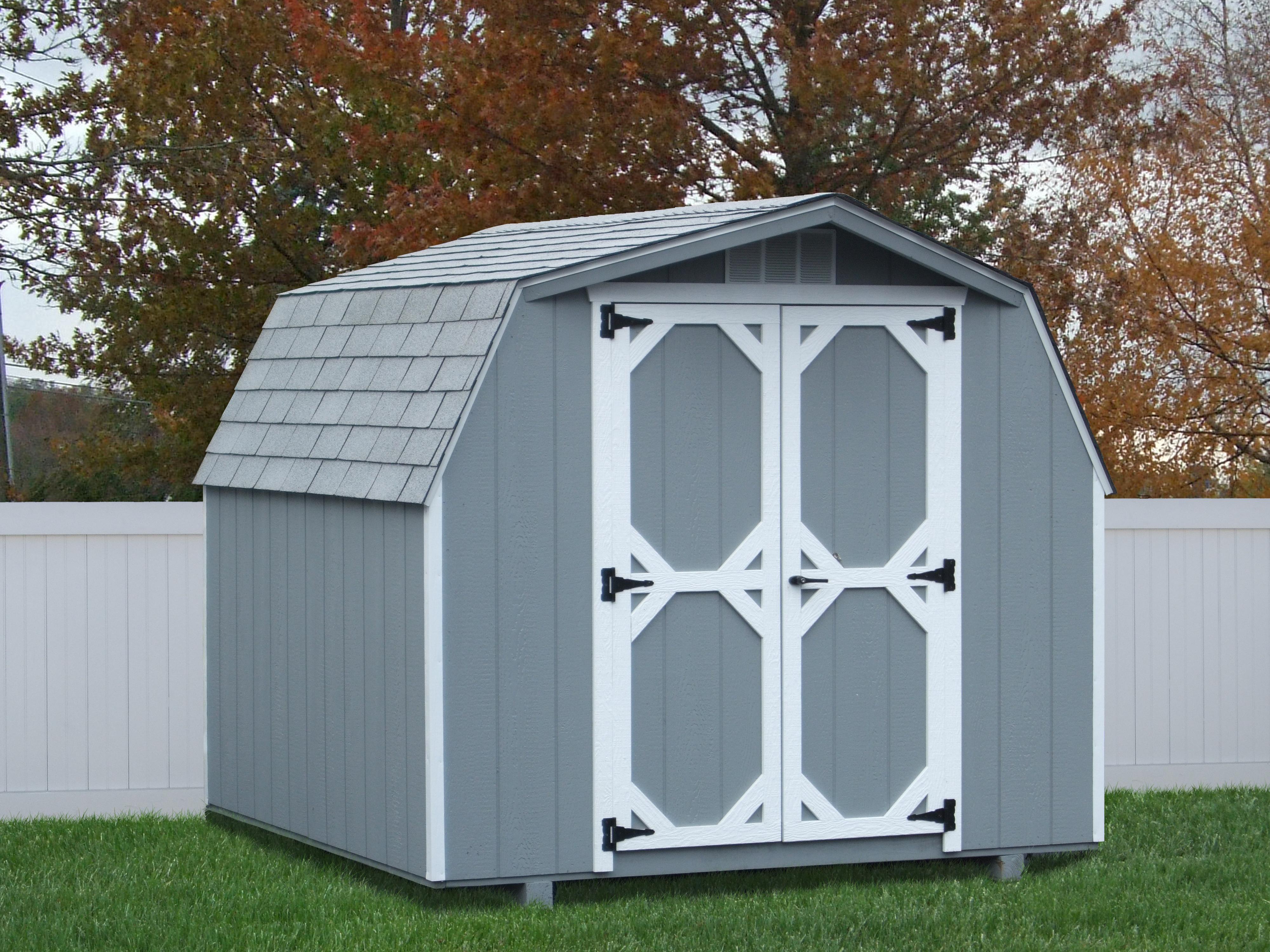 8x10 Wood Mini Barn