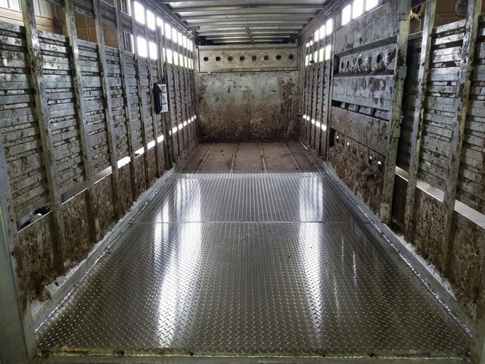 Aluminum trailer repair