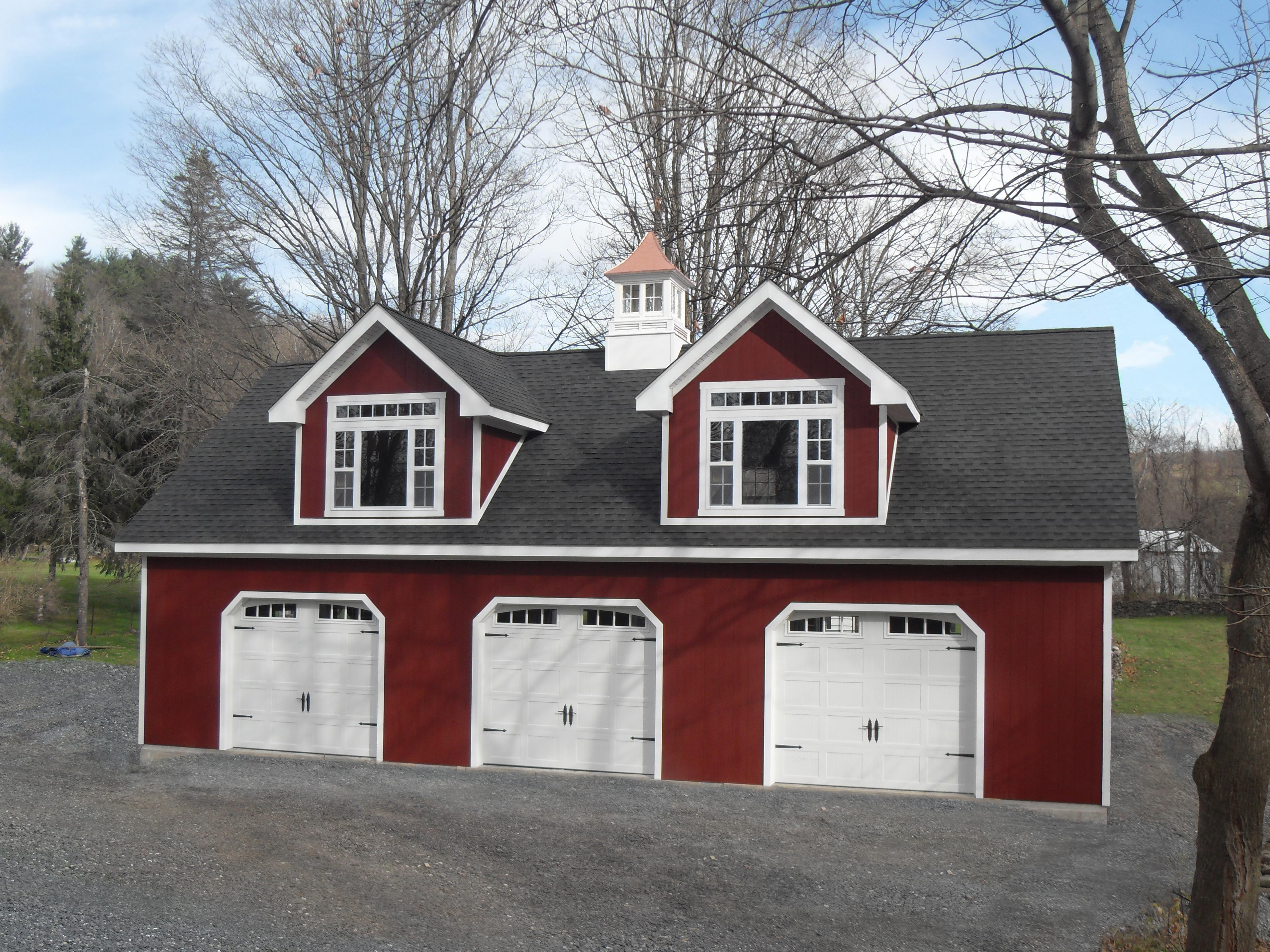 26x48 Wood Garage Empire Series