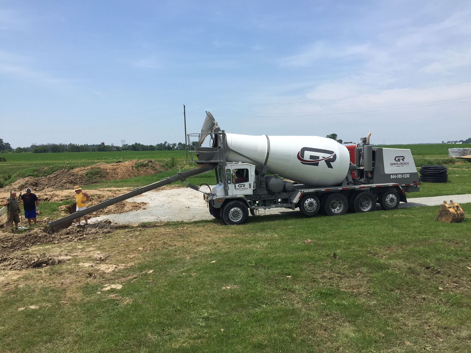 Howard County ready mixed concrete